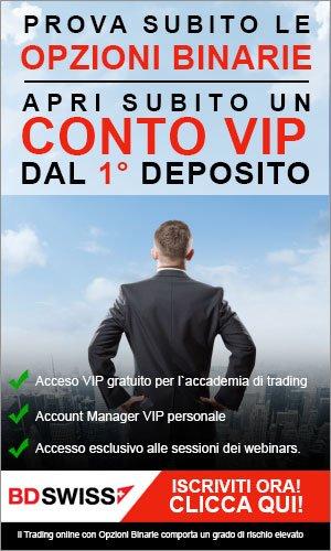 Conto VIP Esclusivo!