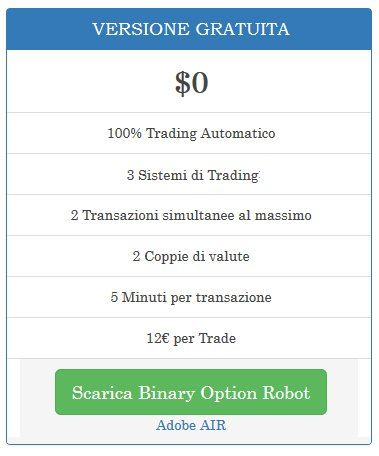 Segnali di trading free