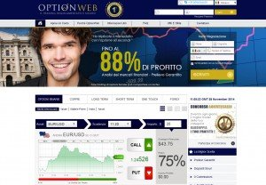 OptionWeb il Sito Web