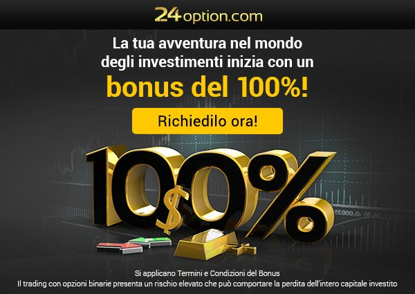Bonus di Benvenuto del Broker 24Option