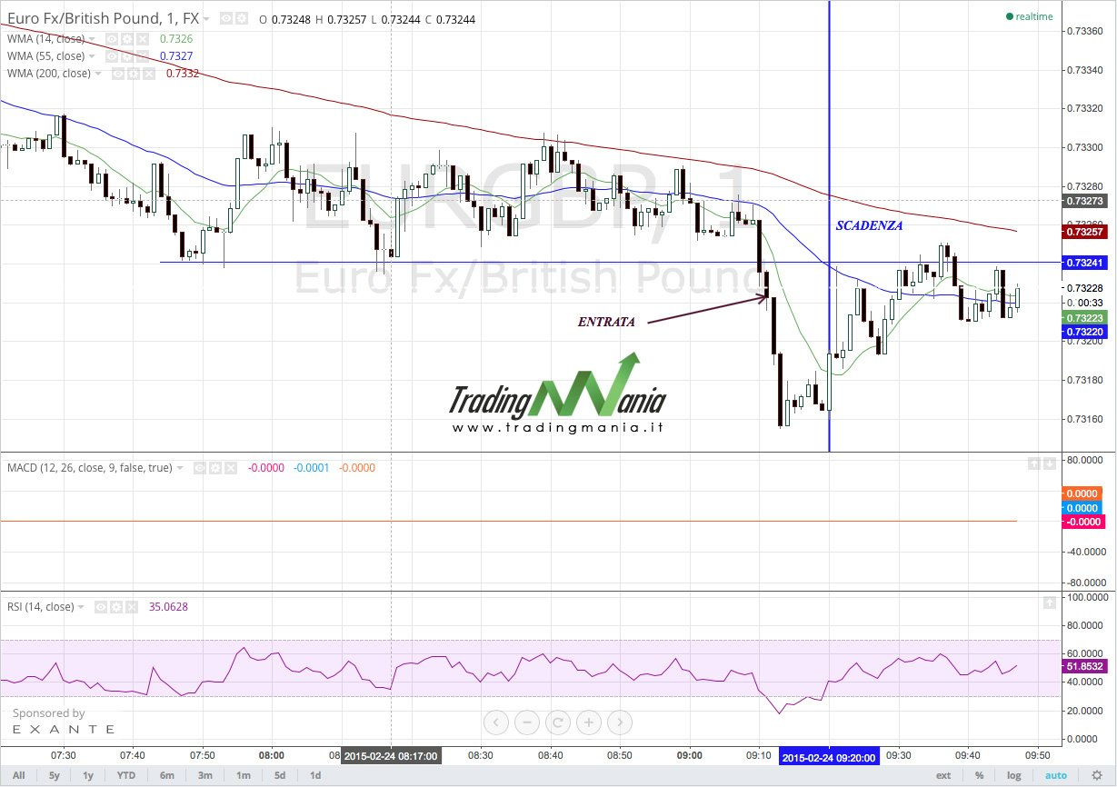 Trading on line su forex