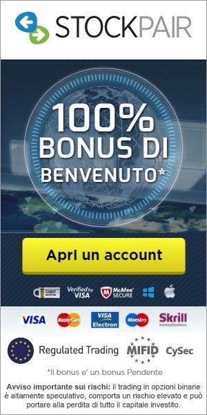 Bonus Esclusivo del 100%!