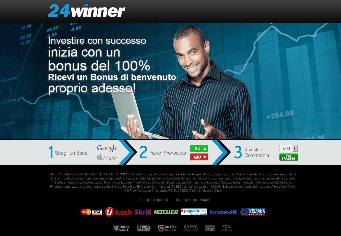 24winner Sito Web