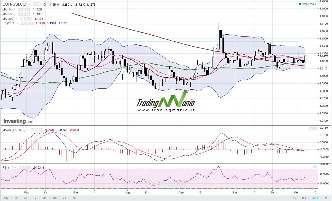 Forex: l'Euro torna a salire!