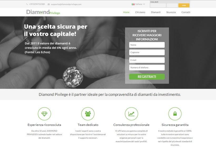 Investire con diamondprivilege.com