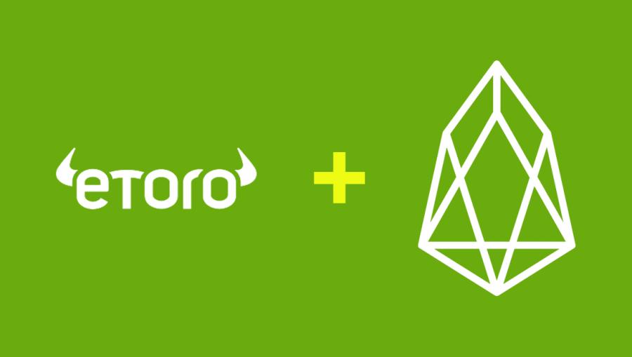 eToro aggiunge supporto commerciale per EOS, espande l'elenco a 10 criptovalute
