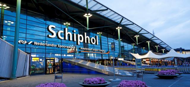 L'aeroporto di Amsterdam consente ai viaggiatori di scambiare gli euro rimanenti con quelli di Cryptos