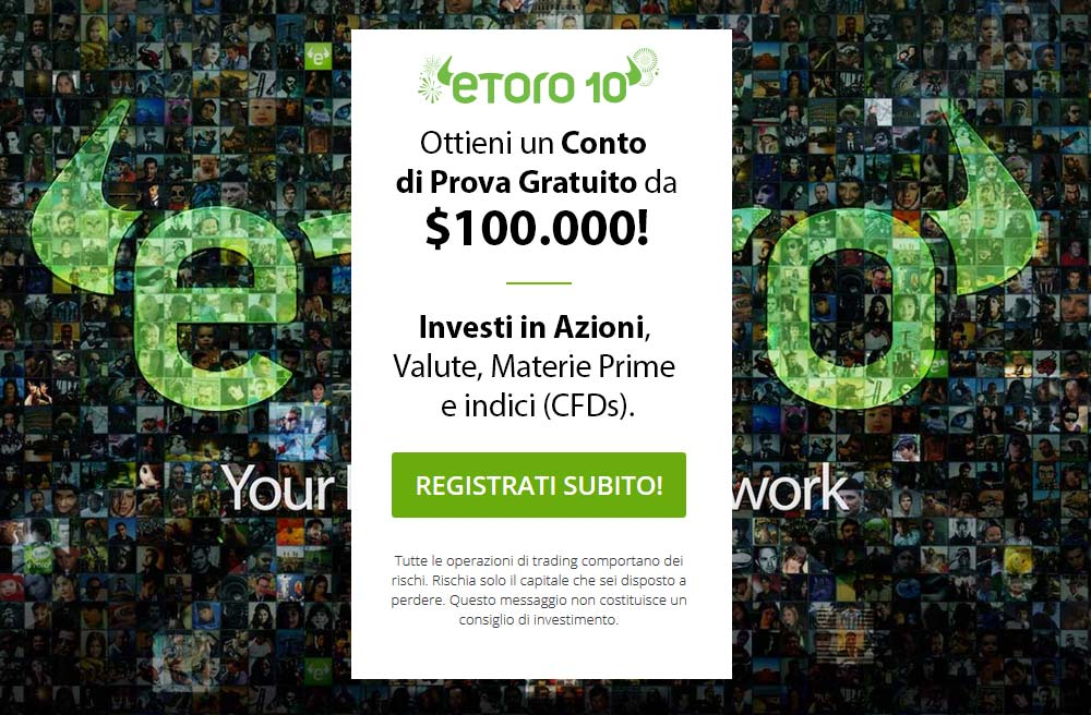 Prova il Social trading di eToro