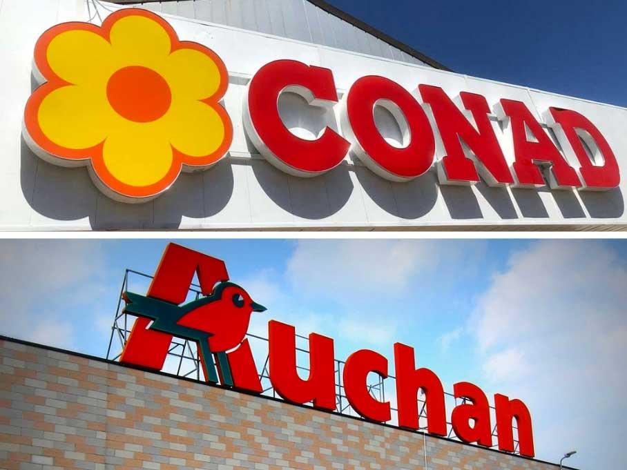 Mercato: Perché Conad acquista Auchan?