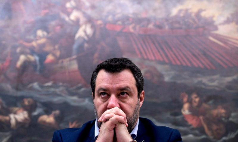 Salvini: Se il caso Gregoretti porterà ad un processo, con me in tribunale tre milioni di italiani