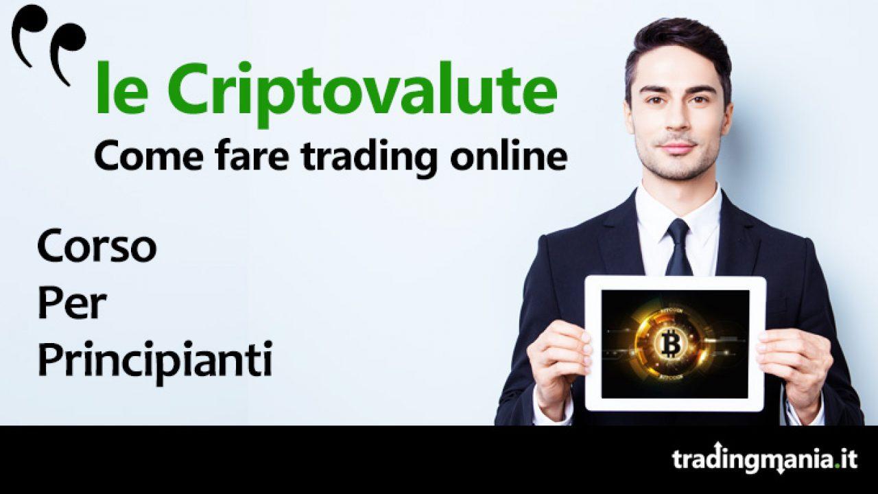 corso trading criptovalute gratis