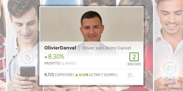OlivierDanvel Popular investor con + di 8000 copiatori