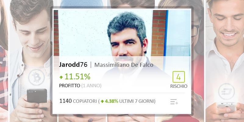 Il Popular Investor italiano Jarodd76