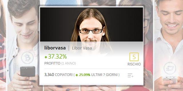 liborvosa, scopriamo chi è il Popular Investor di eToro