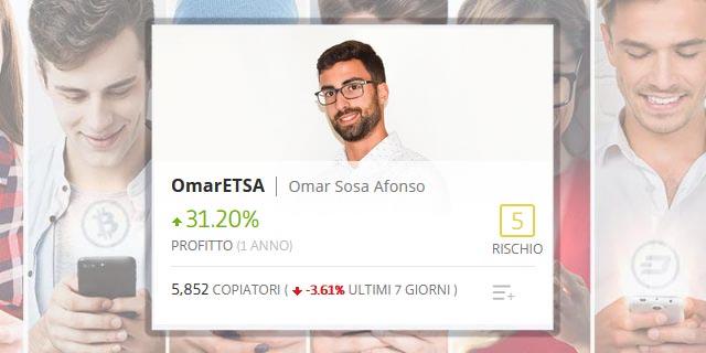 OmarETSA il Popular Investir spagnolo di eToro
