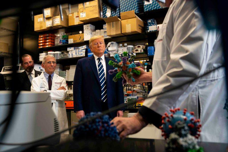 Trump rassicura gli americani