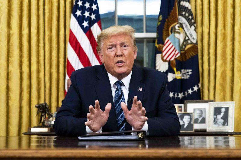 Trump afferma che la situazione non è sotto controllo