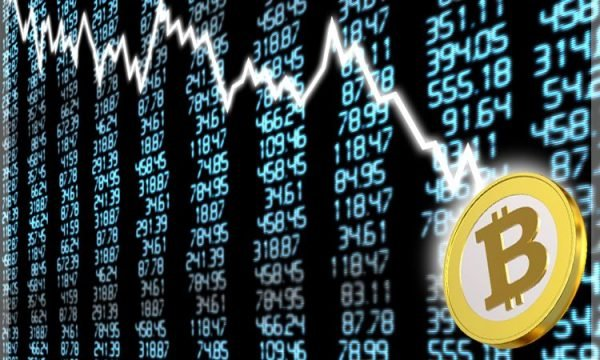 Bitcoin sprofonda $ 900 in ore: la capitalizzazione di mercato globale perde $ 35 miliardi
