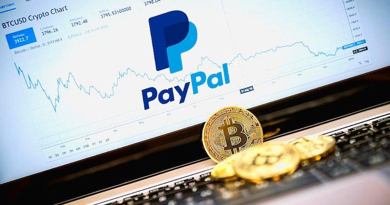 I volumi di scambio di Bitcoin PayPal hanno superato i  $ 125 milioni
