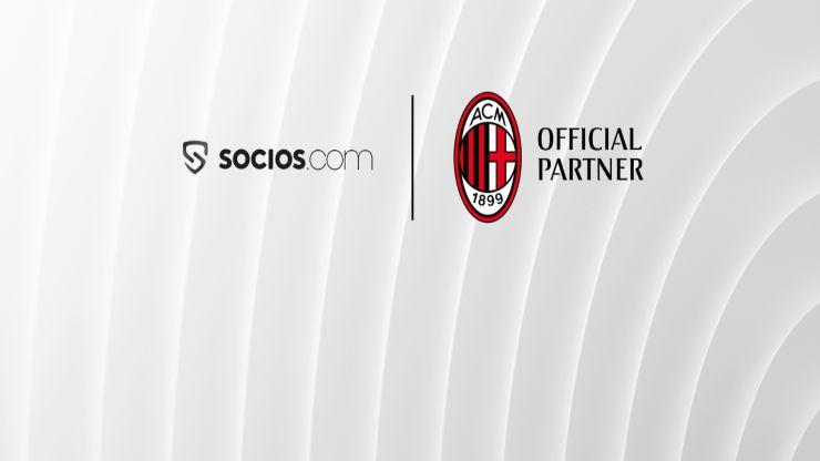 Il Milan si unisce al movimento di Sports Crypto con il lancio di $ ACM Fan Token su Socios.com