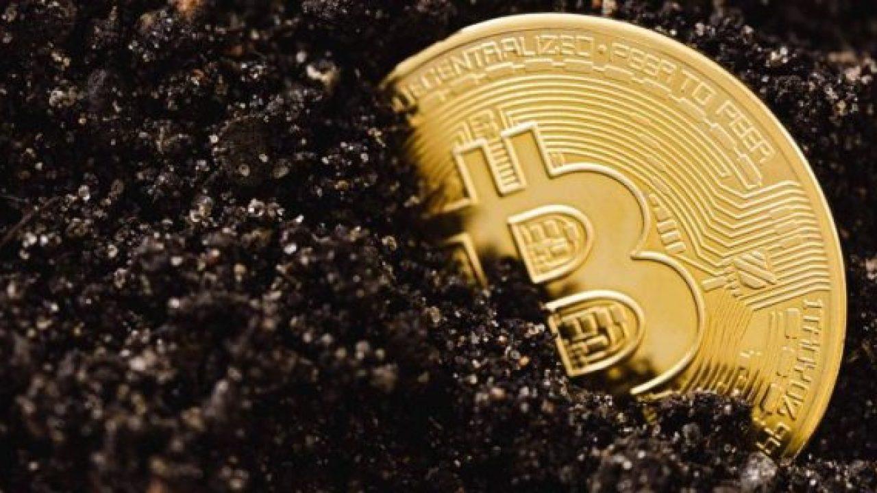 Bitcoin su uno sfondo scuro. Ethereum bitcoin e ascesa e caduta nel prezzo.