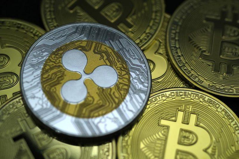 Ripple (XRP) sale alle stelle del 50% mentre Bitcoin lotta a $ 34K: