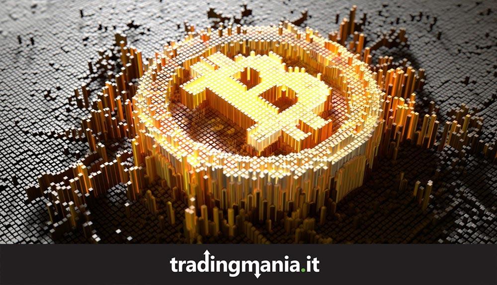 Immagine bitmap sul Bitcoin