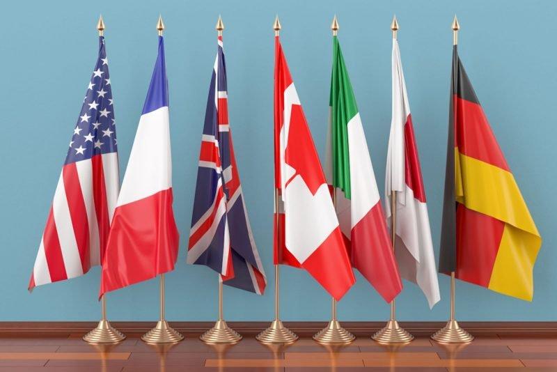 G7 per discutere di CBDC e tassazione digitale questa settimana
