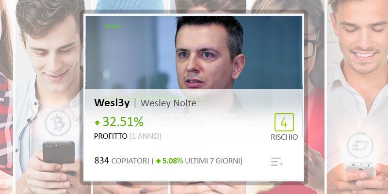 Il Popular Investor Elite Wesley Nolte