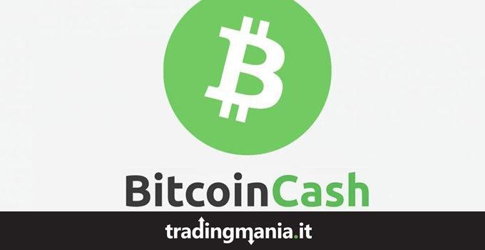 Bitcoin Cash Quotazione Grafico Prezzo in tempo reale