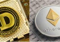 Ethereum, dogecoin impennata mentre le criptovalute continuano la ripresa volatile