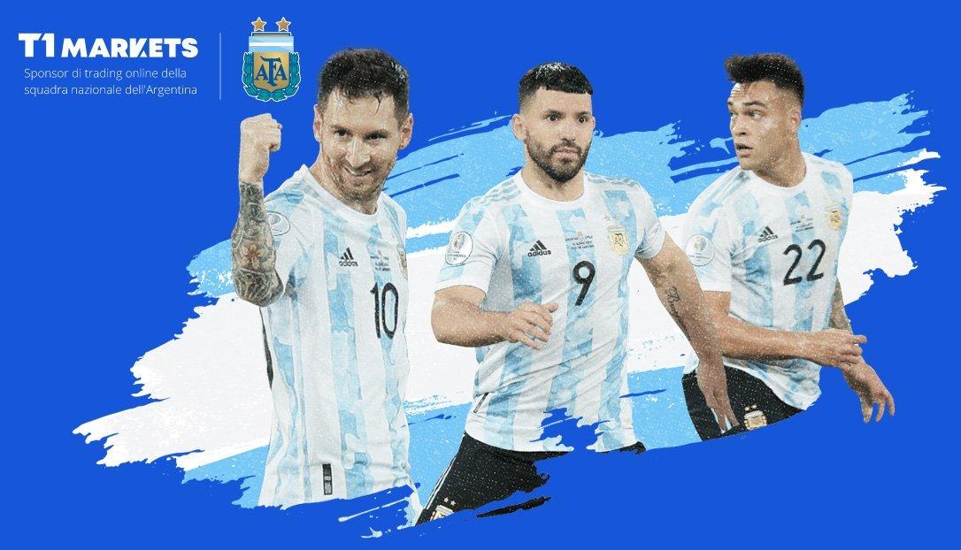 Sponsor nazionale di calcio Argentina